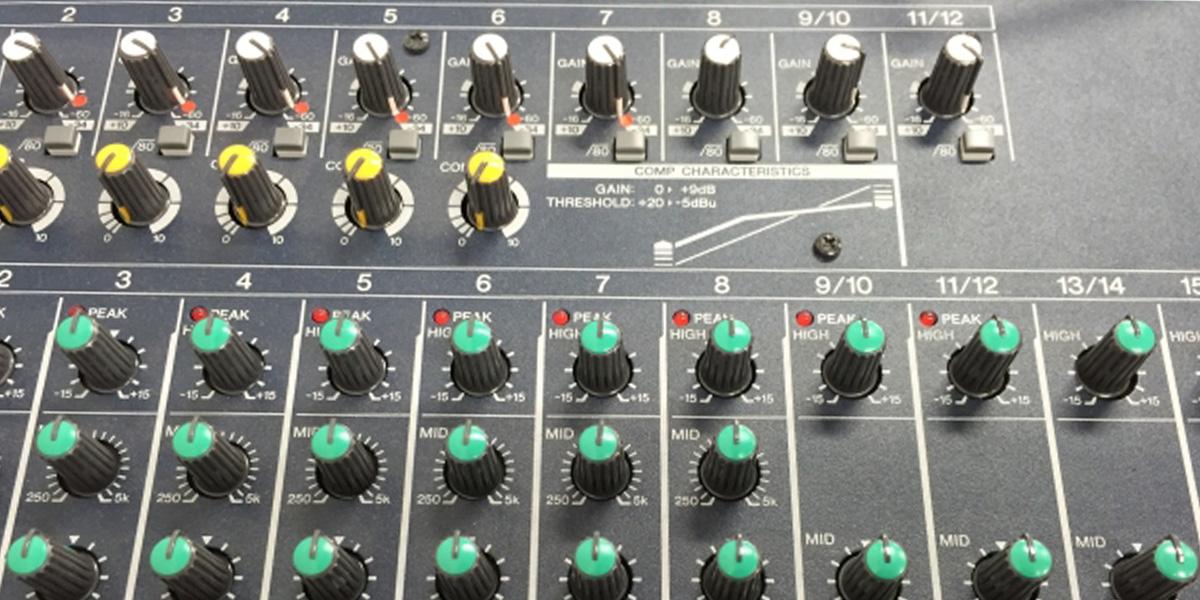 ミキシングコンソールで解決!!外部エフェクター使用したハード機材の音源をDAWに取り込む方法 トップイメージ画像