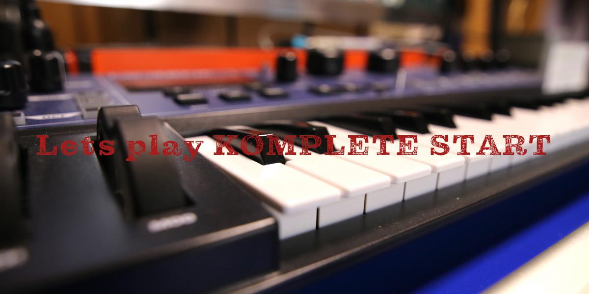 【完全無料&高品質な音源多数】Native InstrumentsのKOMPLETE START音源でトラックメイクする イメージ画像